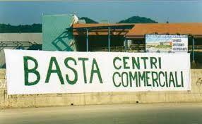 stop centri commerciali