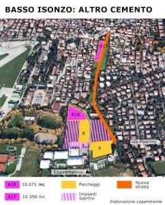 parcheggio_strada_Basso Isonzo_legambiente