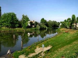 Canale Piovego Padova Stra biciclettata