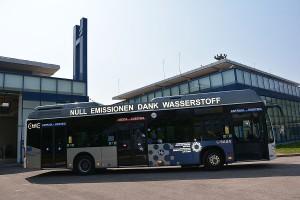 Autobus a idrogeno a Bolzano