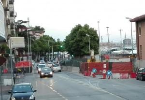 cantiere sottopasso_Arcella stazione