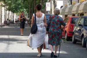 Badante e anziano