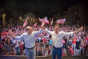 elezioni 2017_Sergio Giordani Arturo Lorenzioni