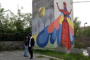Murale a Deltarte