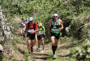 Atleti di Trail running