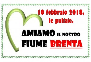 Pulizia Brenta febbraio 2018