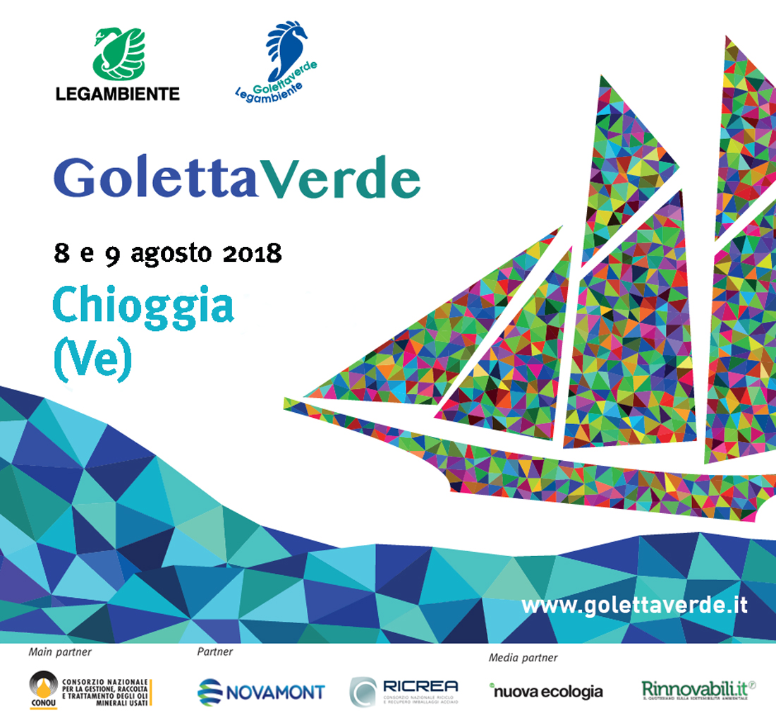 save the date - Goletta Verde a Chioggia